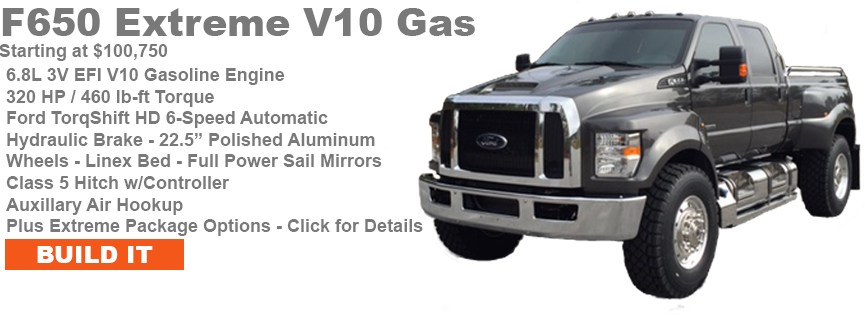 Build your own customized F650 v10 Gas!