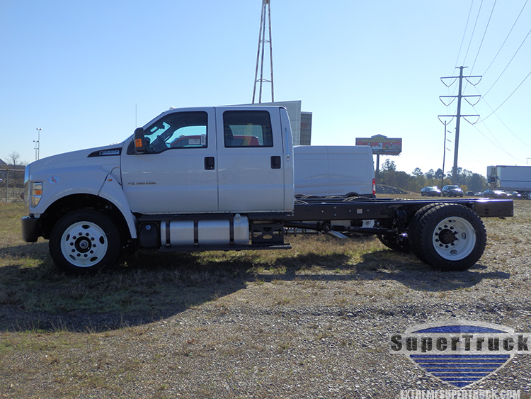 2020 White F650 Chassis