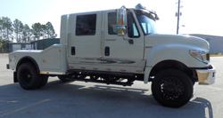 rv or horse hauler