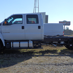 2016 White F650 Chassis