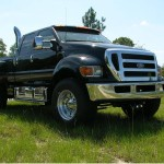 Ford F650 Pickup- Front Bumper