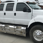 F650 Xtreme Six Door with all the doors open