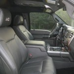 Supertruck interior-back seat