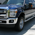 F650 exterior side foot panel