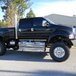 Black four door F650