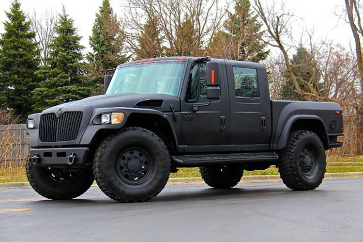 2008 International Mxt 4x4 Pickup F650 Supertrucks